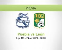 Pronóstico Puebla León (23 octubre 2021)