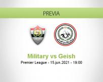 Pronóstico Military Geish (15 junio 2021)