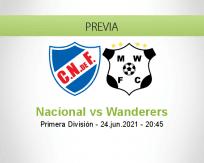 Pronóstico Nacional Wanderers (24 junio 2021)
