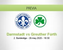 Darmstadt 98 vs Greuther Fürth