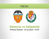 Valencia vs Real Valladolid