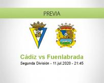 Pronóstico Cádiz Fuenlabrada (11 julio 2020)