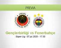 Gençlerbirliği  vs Fenerbahçe