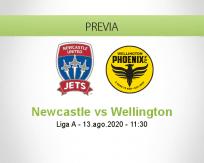 Newcastle Jets vs Wellington Phoenix