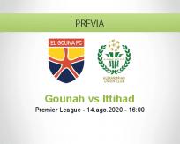 Pronóstico El Gounah Al Ittihad (14 agosto 2020)