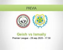 Pronóstico El Geish Ismaily (28 septiembre 2020)