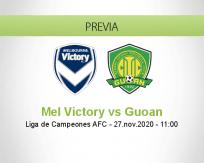 Mel Victory vs Guoan