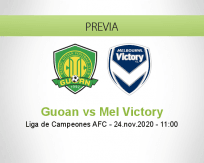 Pronóstico Guoan Mel Victory (24 noviembre 2020)