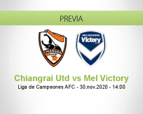 Chiangrai Utd vs Mel Victory