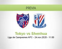 Pronóstico Tokyo Shenhua (24 noviembre 2020)