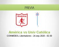 América de Cali vs Universidad Católica
