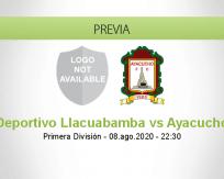 Deportivo Llacuabamba vs Ayacucho