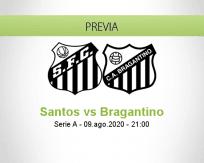 Santos vs Bragantino