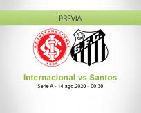 Internacional vs Santos