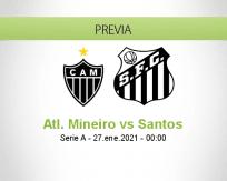 Atl. Mineiro vs Santos