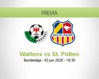 Wattens vs St. Pölten