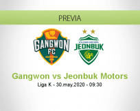 Gangwon vs Jeonbuk Motors