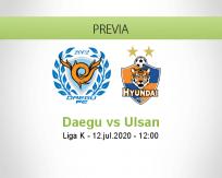 Daegu vs Ulsan