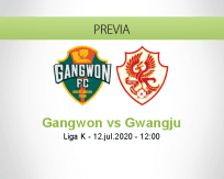 Gangwon vs Gwangju