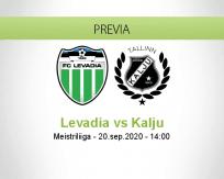 Pronóstico FCI Levadia Nõmme Kalju (20 septiembre 2020)