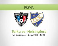 Pronóstico Inter Turku HIFK (14 agosto 2020)