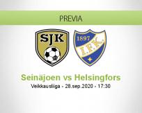 Pronóstico SJK HIFK (28 septiembre 2020)