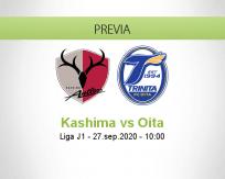 Pronóstico Kashima Antlers Oita Trinita (27 septiembre 2020)