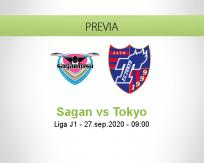 Pronóstico Sagan Tosu Tokyo (27 septiembre 2020)