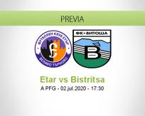 Pronóstico Etar Vitosha Bistritsa (02 julio 2020)