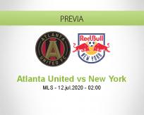 Pronóstico Atlanta United New York RB (12 julio 2020)