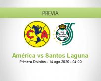 América vs Santos Laguna