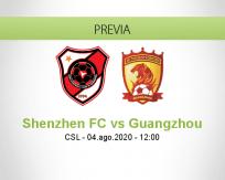 Shenzhen vs Guangzhou Evergrande