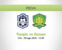Tianjin Teda vs Beijing Guoan