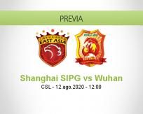 Shanghai SIPG vs Wuhan Zall