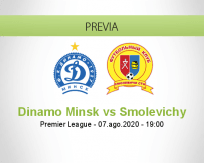 Pronóstico Dinamo Minsk Smolevichy-STI (14 agosto 2020)