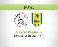 Ajax vs RKC Waalwijk