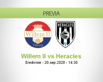 Pronóstico Willem II Heracles (20 septiembre 2020)