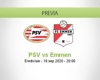 PSV vs Emmen
