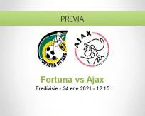 Pronóstico Fortuna Ajax (24 enero 2021)