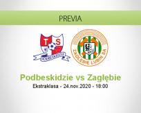 Pronóstico Podbeskidzie Zagłębie (24 noviembre 2020)