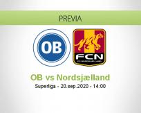 Pronóstico OB Nordsjælland (20 septiembre 2020)