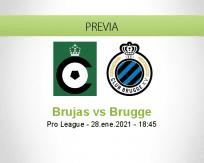 Pronóstico Brujas Brugge (28 enero 2021)