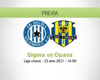 Pronóstico Sigma Opava (23 enero 2021)