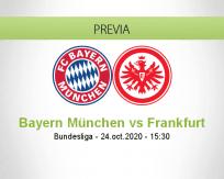 Bayern München vs Eintracht Frankfurt