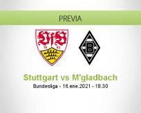 Pronóstico Stuttgart M'gladbach (16 enero 2021)