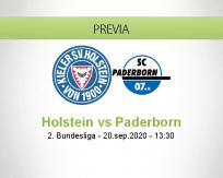 Pronóstico Holstein Kiel Paderborn (20 septiembre 2020)