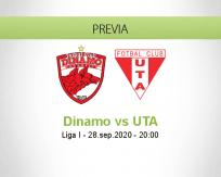 Dinamo Bucureşti vs UTA Arad