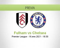 Pronóstico Fulham Chelsea (16 enero 2021)