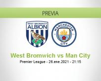 West Bromwich vs Man City