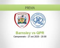 Pronóstico Barnsley Queens Park Rangers (27 octubre 2020)